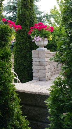 Pemberley garden...