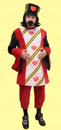alice in wonderland king of hearts costume - Google Search