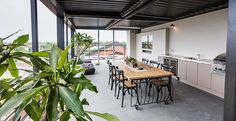Brad and Dale's Rooftop Terrace on The Block! #TheBlock