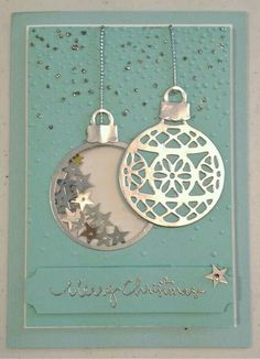 Ann Craig Independent demonstrator Stampin' Up! Samples of hand stamped cards and creative paper craft. Join Stampin Up. Homemade Christmas Cards, Homemade Cards, Handmade Christmas, Christmas Ornaments, Merry Christmas, Ornaments Image, White Christmas, Christmas Crafts, Eid Cards