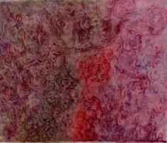 Mère de l'arbre Neem et Mère de la nouvelle Lune (Painting),  55x45 cm by MAriska MA Veepilaikaliyamma couleurs naturelles faites à la main, tissu coton  Neem Tree Mother and New Moon Mother  self-made natural colours on cotton cloth