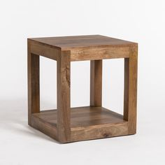 The simplicity of the Lindon End Table pairs with the warmth of the mango wood to create a sophisticated piece. Wood color has soft grey undertones. Details + Dimensions Materials: Mango Wood Colors: Brown, Grey W: D: H: Diy Furniture Redo, Furniture Deals, Living Room Ideas Uk, Bed Frame Design, Miller Homes, Leather Ottoman, Diy Pallet Projects, Woodworking Projects, Occasional Chairs