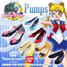 Sailor Moon x Tyake Tyoke Shoes Fashion CollaborationSAILOR MOON COLLECTIBLES ($150)