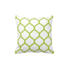 Custom Quatrefoil Throw Pillow & by GatheredNestDesigns on Etsy, $25.00