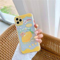 KAWAII SWEET FRUIT PHONE CASE - Lemon / for iPhone12 mini