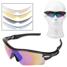 S UV400 Protection Sports Sunglasses with Frame for Shooting / Cycling / Ski / G