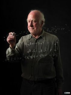 Higgs - long with five other theoreticians, Peter Higgs predicted the Higg's Boson particle in the 1960s