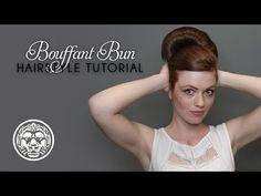 Lionesse Bouffant Bun Hairstyle Tutorial