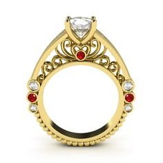 18k yellow gold French Trellis design with 1ct Round Brilliant GIA diamond #engagement ring #designer #diamond ring contact us for pricing. Available worldwide. www.nzjewelleryonline.com