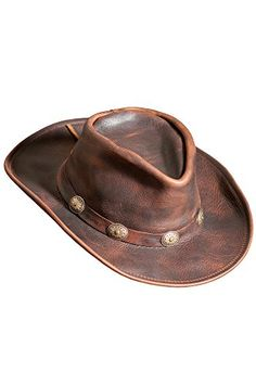 14bab0444df45 Raging Bull Leather Cowboy Hat Overland Sheepskin Co https   www.amazon.