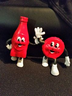A personal favorite from my Etsy shop https://www.etsy.com/listing/495526095/cappy-and-bottle-figurine