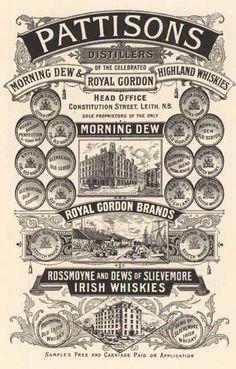 Pattinson's Morning Dew 1896-1900 Bartholomew Archive Blog