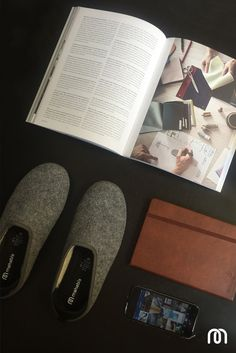 mahabis wednesday // work from home complete. slippers on. time to unwind.  check out our larvik light grey classics here, and buy yours today: