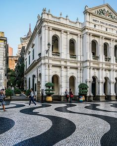 Exploring Macao [ loving this Portuguese inspired city ] by @zioandsons - @macaousa