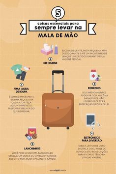 5 essential things to always carry in your hand luggage infographic Travel Checklist, Travel Planner, Travel Packing, Travel Guide, Places To Travel, Places To Go, Hand Baggage, Autumn In New York, Au Pair