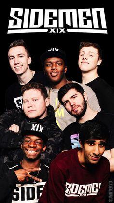 Sidemen And Friends Imagines - Calfreezy British Youtubers, Best Youtubers, Sidemen Members, Simon Minter, Funny Screen Savers, Popular Stories, Cool Backgrounds, Celebs, Celebrities