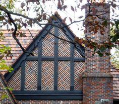 half timbered gable