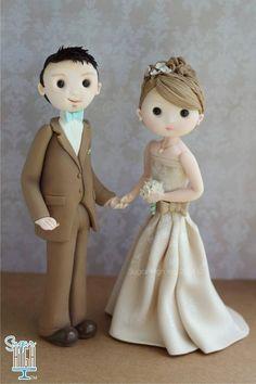 A sweet fall Bride & Groom