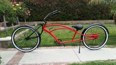 My Custom 26'inch Stretch Cruiser. BOSS......