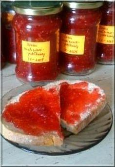 dżem malinowo-jabłkowy Preserves, Salsa, Jar, Foods, Food Food, Preserve, Food Items, Preserving Food, Salsa Music
