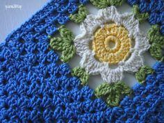 yarnaway: a crochet scrapbook: wip: daisy chain