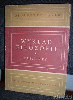 Wykład filozofii Elementy - Georges Politzer - Schodzi.pl