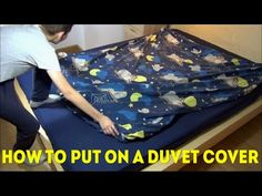 How to Fill a Duvet Cover. This ingenious duvet cover trick. A Simple way to get your Duvet in the Duvet Cover in seconds. More videos: How to CLEAN CAMERA L. Dinosaur Toddler Bedding, Where To Buy Bedding, Bed Sets For Sale, Restoration Hardware Bedding, King Sheets, Bed Sheets, How To Make Sushi, Easy Youtube, Luxury Bedding Collections