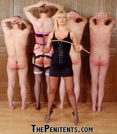 SPANKING CANING & STRICT WOMEN