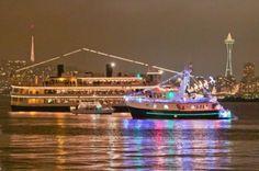 Seattle christmas boats