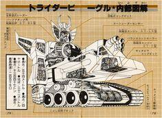 無敵ロボ トライダーG7|Trider G7|無敵G7