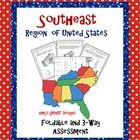 Help your learners master the Southeast Region states and capitals! First have them make the foldable to write the capital cities of each state. ...