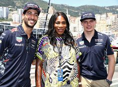Checkout Moments From Serena Williams  Stop at Monaco Grand Prix                 Serena Williams isn't slowing down during her pregnancy but she is definitely glowing... The  tennis champ is traveling once more attending the Monaco Formula One  Grand Prix at Circuit de Monaco in Monte-Carlo on Sunday. The  35-year-old opted for a bold and bright Zebra-patterned dress for the  fast-paced event and looked picture perfect for Monaco's sunny weather.  While there the eight-time world champ posed…