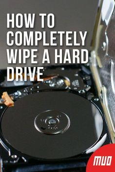 How to Completely Wipe a Hard Drive - - There are two ways to wire a hard drive. Here's what you need to know to get it done quick and easy. Life Hacks Computer, Computer Works, Computer Basics, Computer Help, Computer Internet, Computer Security, Computer Tips, Computer Science, Cool Technology Gifts