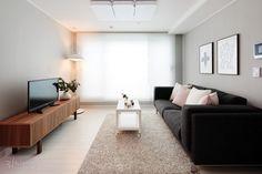 32평(105.6㎡), 홈 드레싱으로 심플하게 꾸민 예비부부의 신축 빌라 : 매거진캐스트