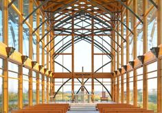 Pulled over and visited this glass chapel we spied off the highway near Omaha, Nebraska. Loved it. So peaceful. Found out architect has another one in Arkansas on our must visit list.