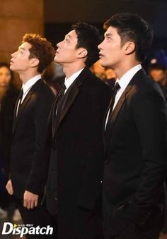 Koreadaebak - Oh My Venus .no country in the world can wear suits like South Korea. that is a gift to womankind. this is the most epic suit picture in existence. it inspired this board. Heechul, Leeteuk, So Ji Sub, Park Hae Jin, Park Seo Joon, Korean Celebrities, Korean Actors, Korean Dramas, Asian Actors