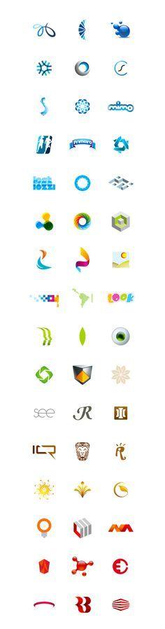 Logos 2011 · 2012 by Dinard da Mata, via Behance