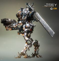 Ronin with his Sword in Warship Collage Camo
