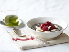 Pudding? For breakfast? Sounds like a dream come true! Chia seeds are packed with omega-3 fatty acids, lots of fiber and calcium.