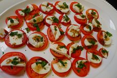 Appetizer Brushetta - Low carb and loaded with taste!