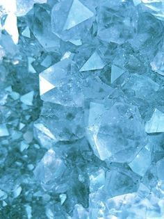 Celestite crystal - love it so much!