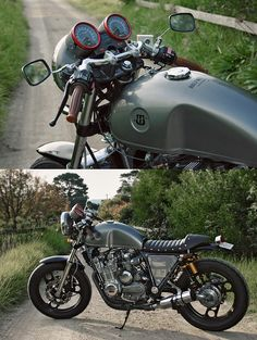 Cafe Racer: Understated is always a good look.