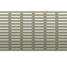 Pattern Library Bok Modern B8 railing fences gates metal
