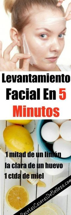 El Mejor Levantamiento Facial en 5 Minutos - Care - Skin care , beauty ideas and skin care tips Beauty Care, Diy Beauty, Beauty Skin, Beauty Hacks, Skin Tips, Skin Care Tips, Tips Belleza, Facial Care, Beauty Recipe
