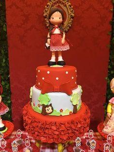 Decoração de Festa da Chapeuzinho Vermelho