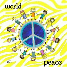 Peace Sign Art ✌❤ #WorldPeace