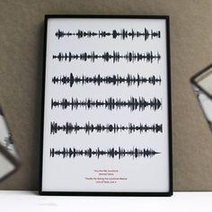 Slate Soundwave on Light Grey Deep Red Text