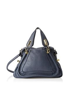 Chloé Women's Paraty Medium Shoulder Bag, Navy
