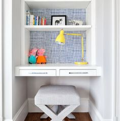 How To Customize Kids' Desks: 29 Creative Ideas | DigsDigs