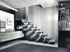 Downstairs at the Grosse Pointe Girard's Home, 1948